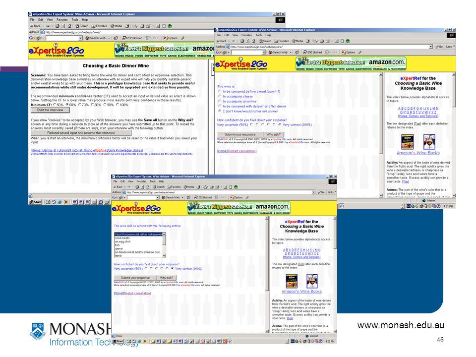 www.monash.edu.au 46