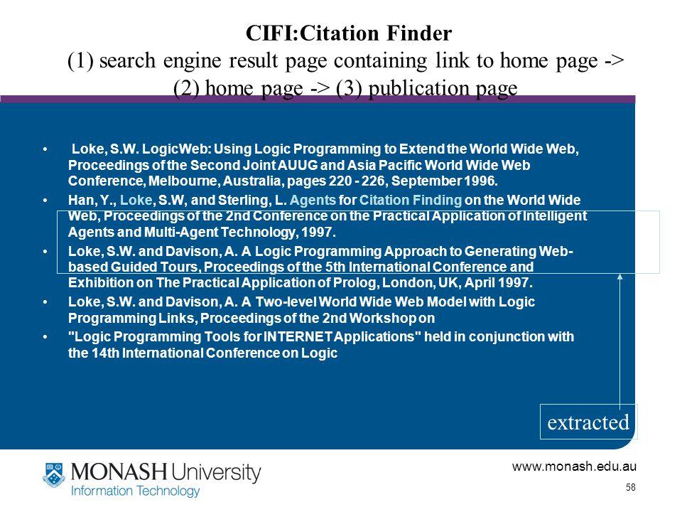 www.monash.edu.au 58 Loke, S.W.