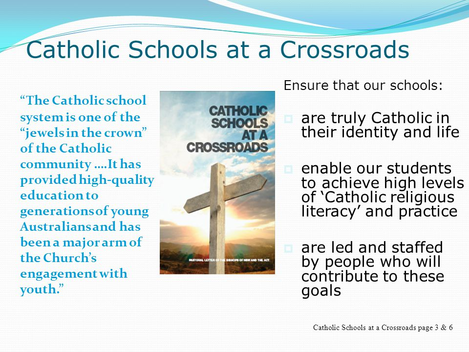  It depends on me as a teacher whether the Catholic school achieves its purpose (Declaration on Christian Education)  Students should know that as soon as they enter my room that they are in a different environment.