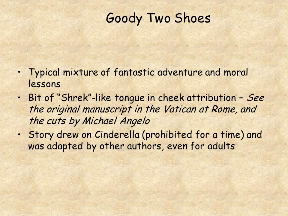 "Typical mixture of fantastic adventure and moral lessons Bit of ""Shrek""-like tongue in cheek attribution – See the original manuscript in the Vatican"