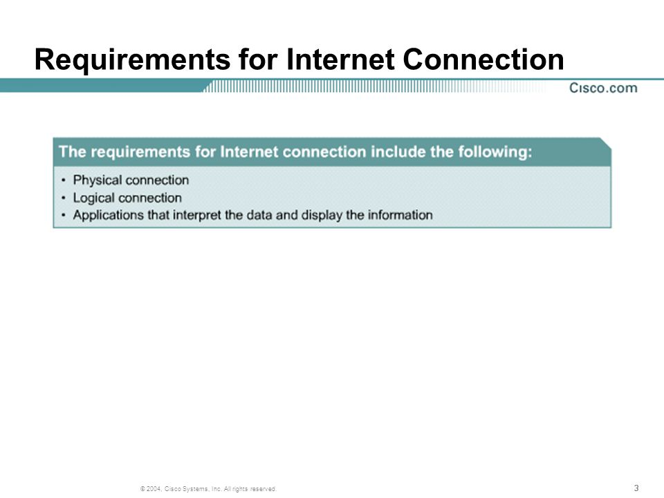 24 © 2004, Cisco Systems, Inc. All rights reserved. IP Addresses and Network Masks