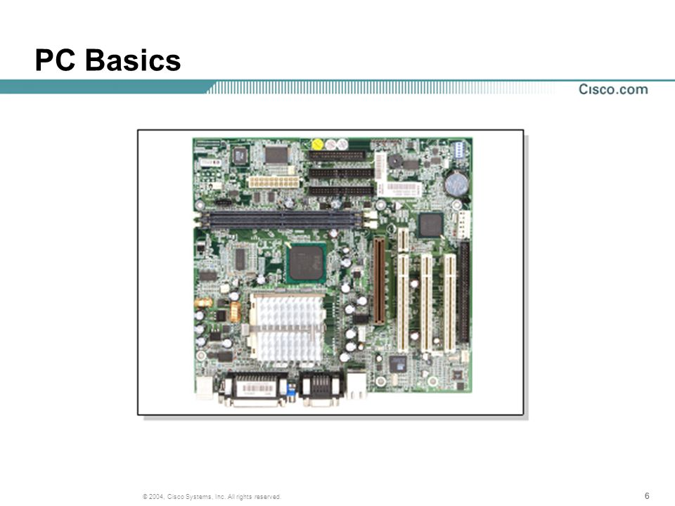 17 © 2004, Cisco Systems, Inc. All rights reserved. Base 10 Numbers