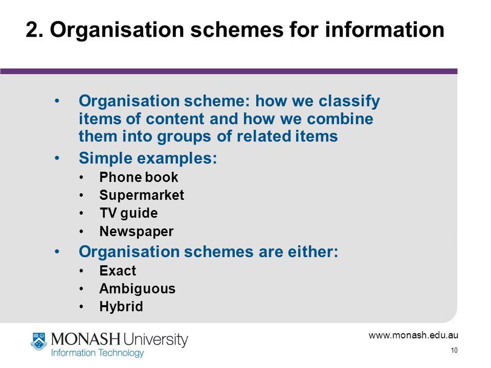 www.monash.edu.au 10 2.