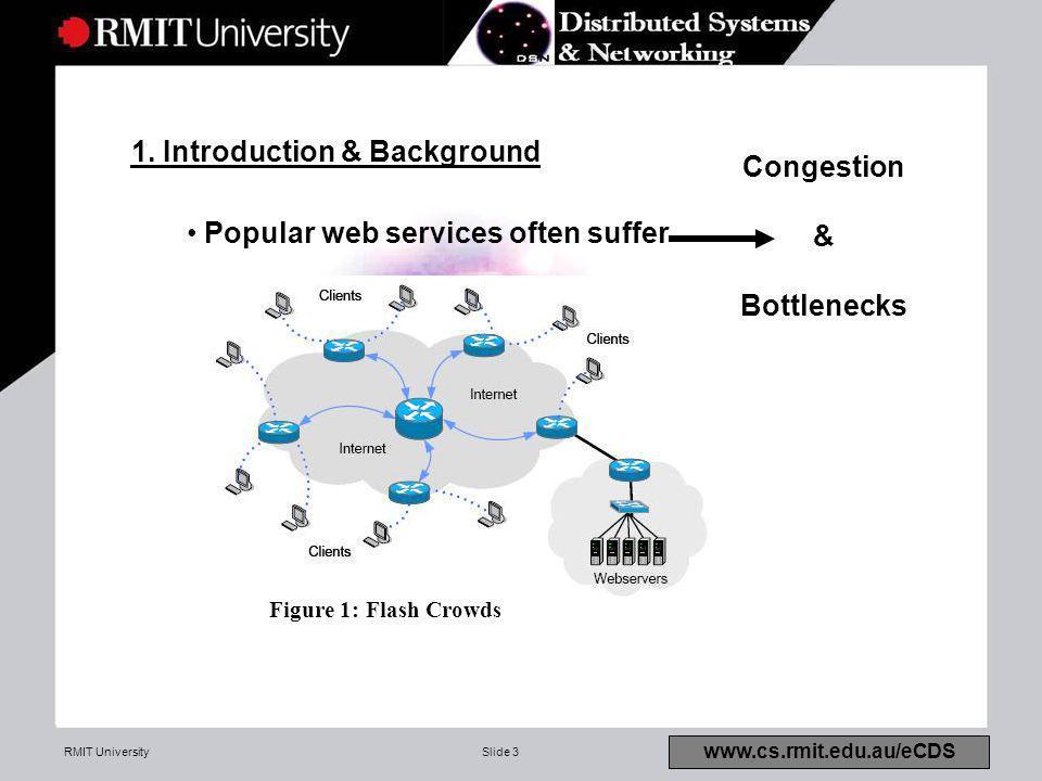RMIT UniversitySlide 3 www.cs.rmit.edu.au/eCDS 1.
