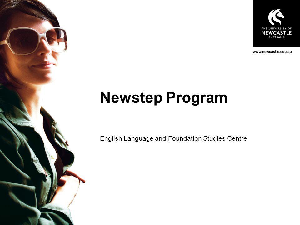 Newstep Program   www.newcastle.edu.au/newstep 12 How to Apply.