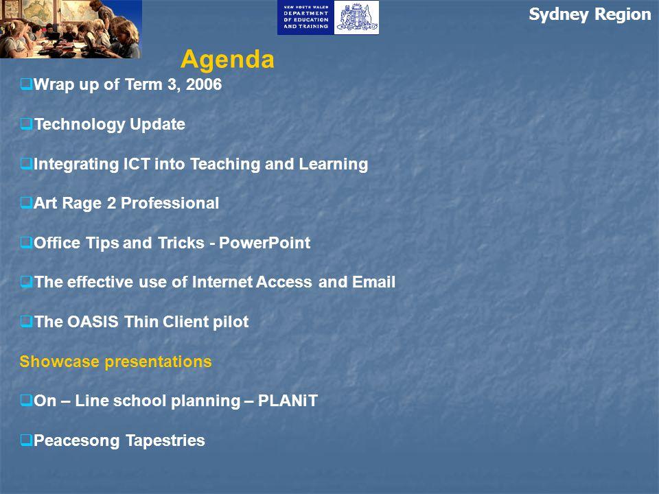 Sydney Region Sydney Region ICT news-6- Draft SR ICT standards http://sts.sydneyr.det.nsw.edu.au