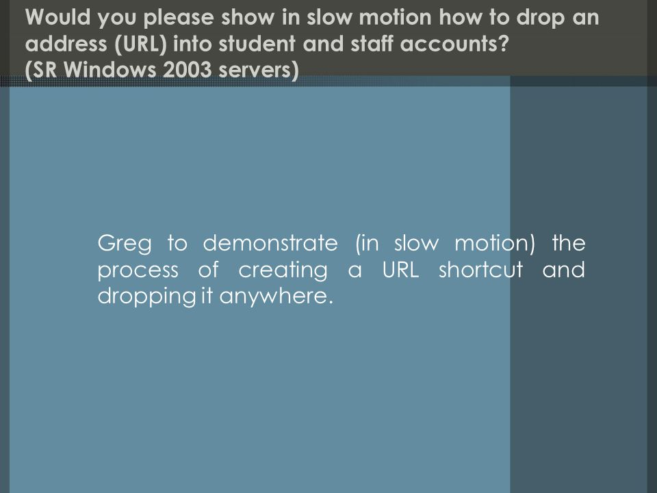 Will the new OASIS fileservers negate the need for Oasis/Windows switches.