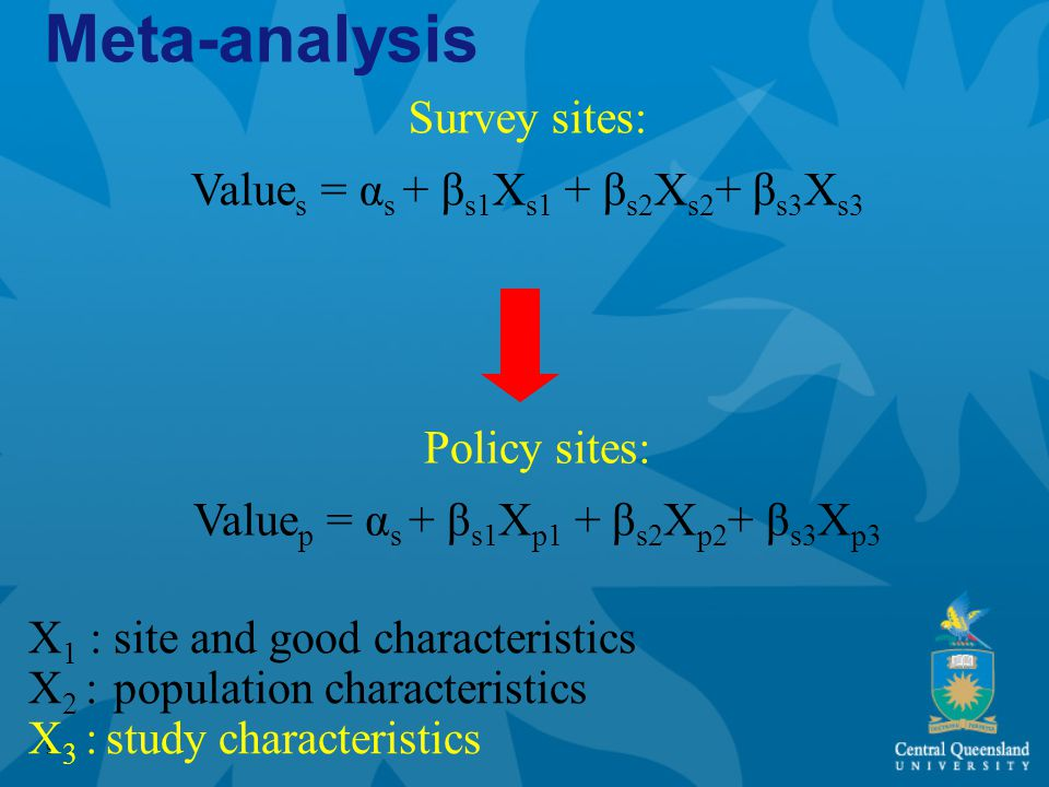 10 Meta-analysis Statistical analysis of the summary findings of empirical studies Helpful tool to summarize and explain differences in outcomes Advantages: -transparant structure to understand underlying patterns of assumptions, relations and causalities -avoids selective inclusion of studies and weighting of findings