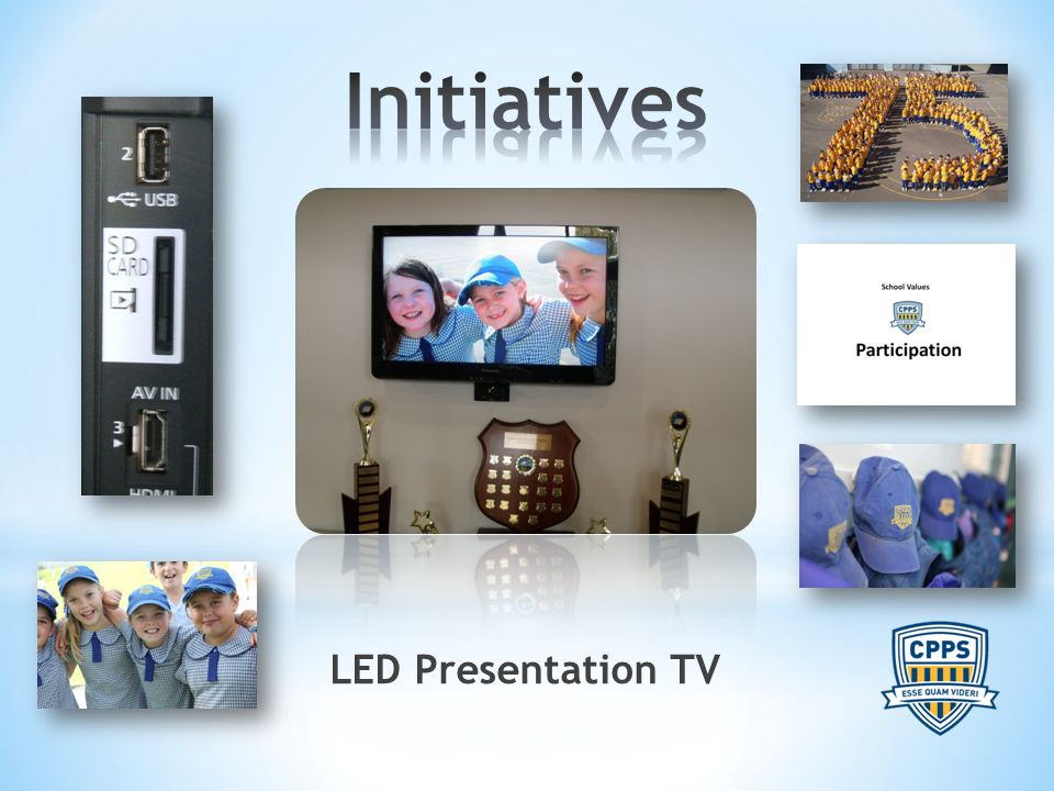 LED Presentation TV