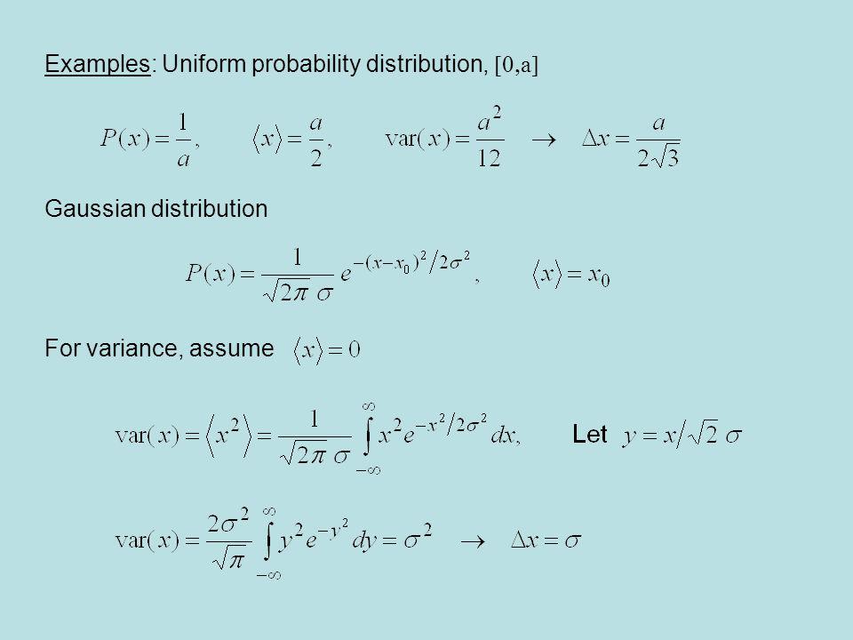 Detour: Gaussian integrals Fundamental integral: Introduce