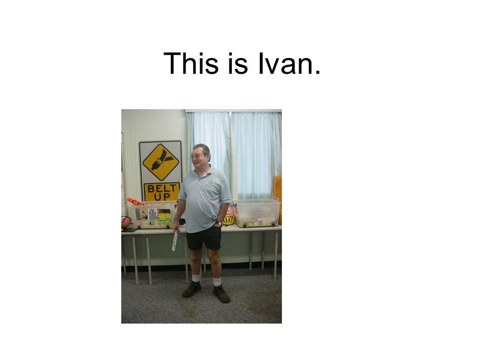 This is Ivan.
