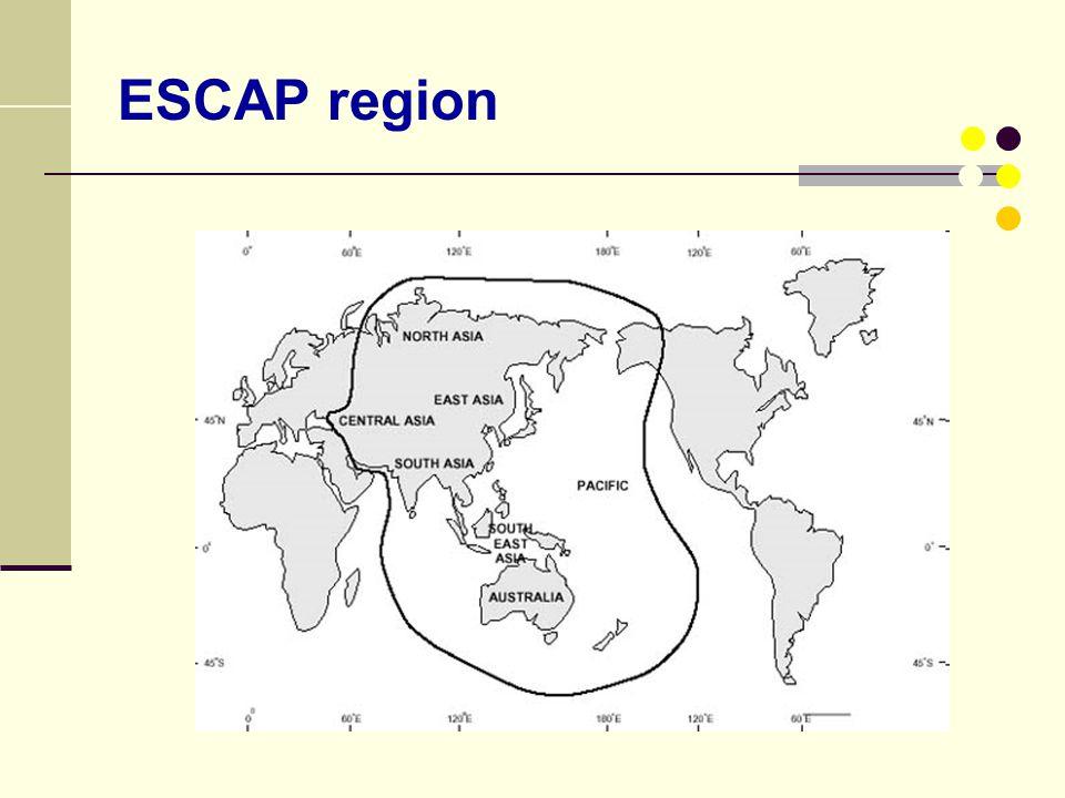 ESCAP region