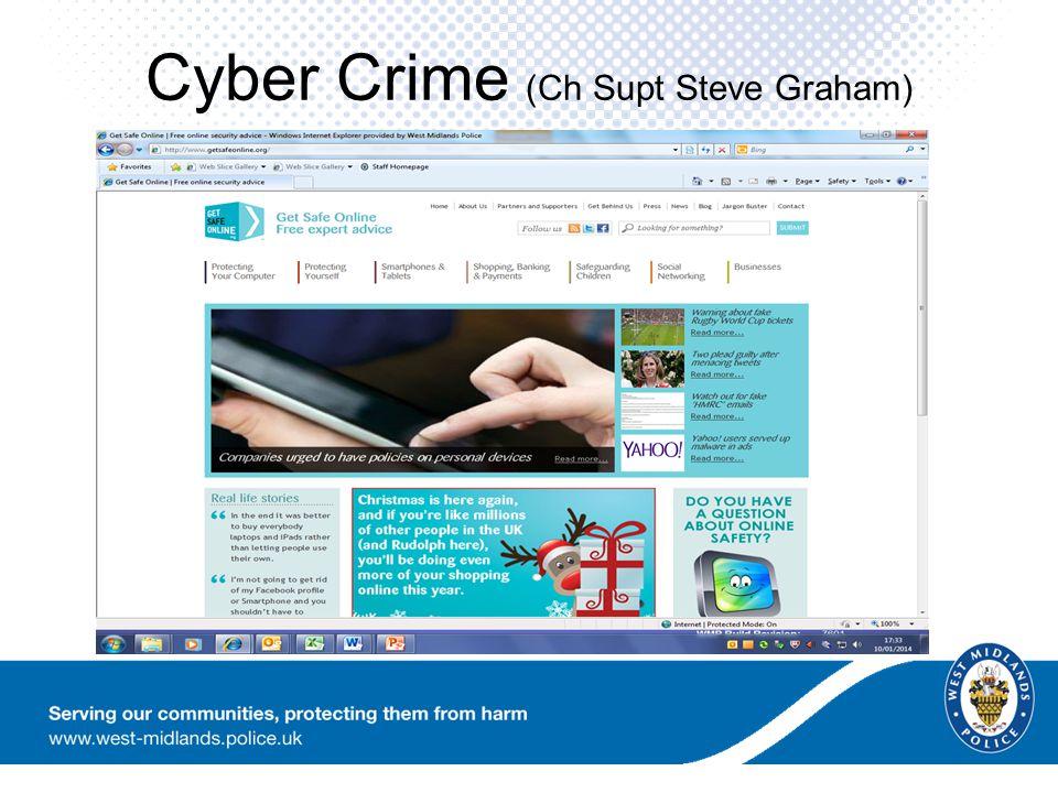 Cyber Crime (Ch Supt Steve Graham)