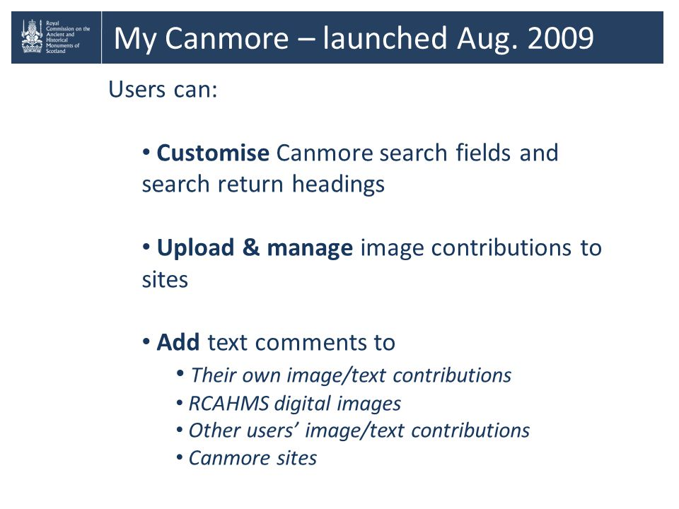 My Canmore – launched Aug.