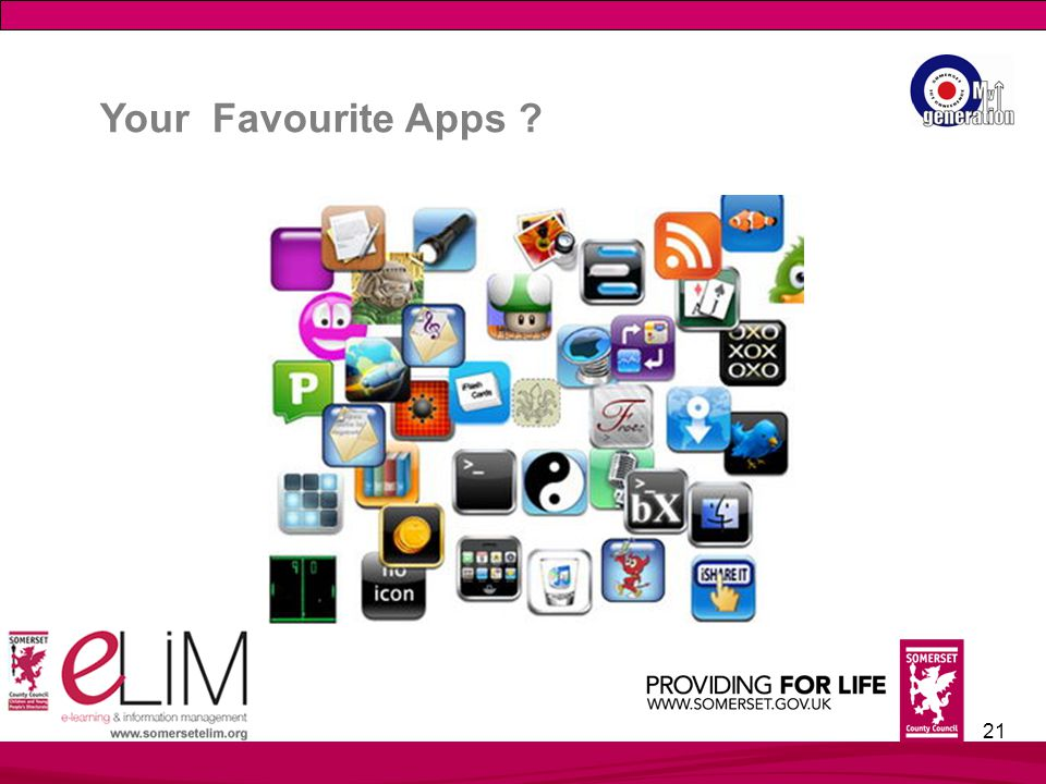 21 Your Favourite Apps