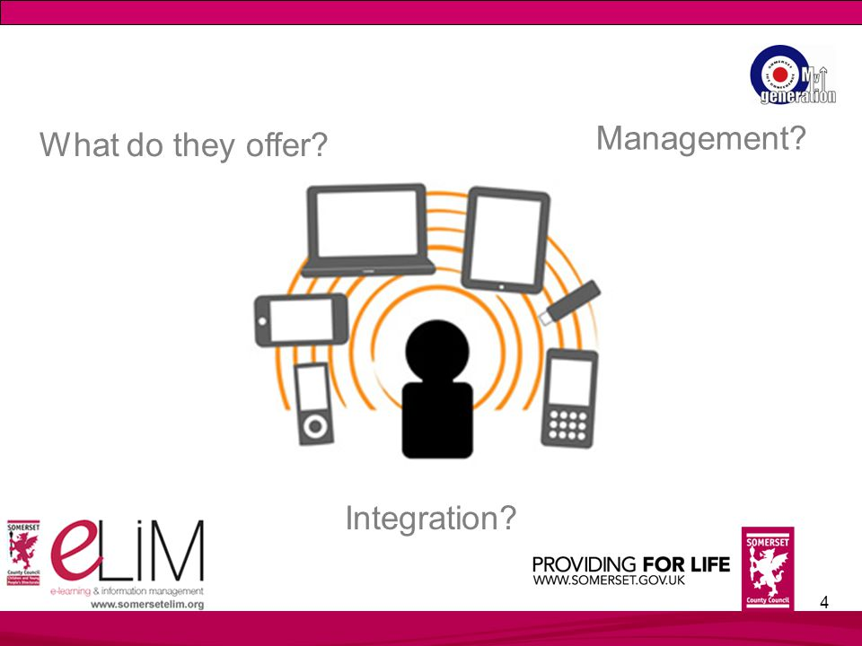 4 What do they offer Management Integration