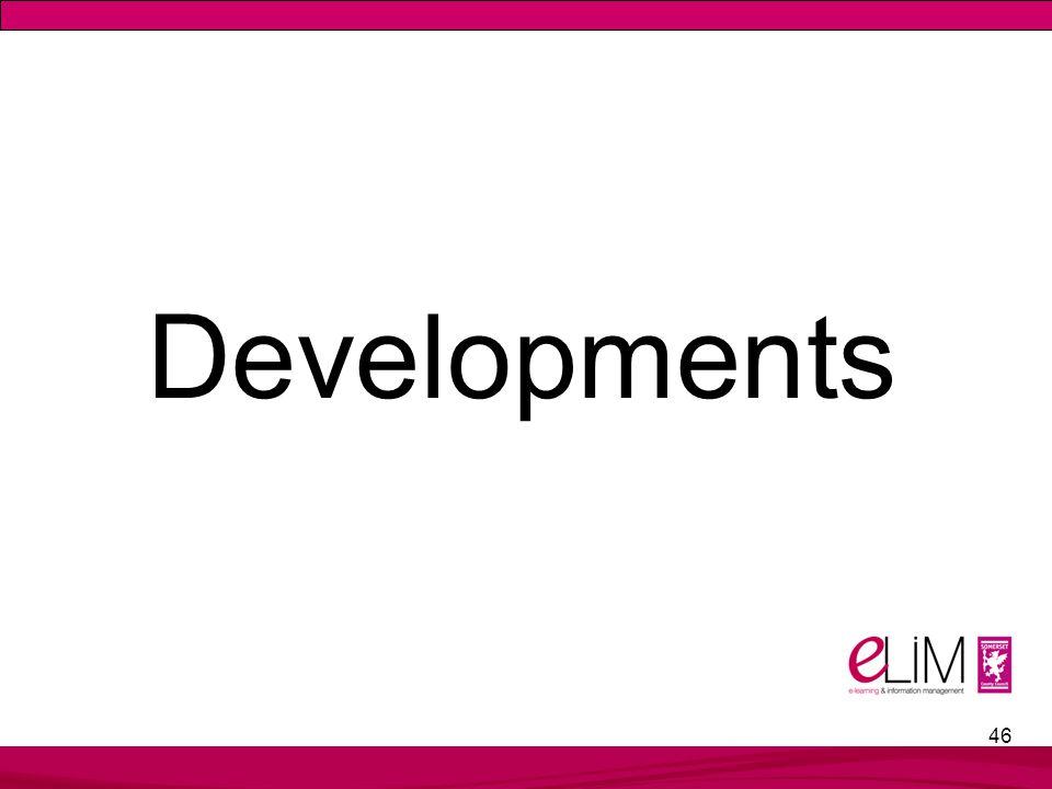 46 Developments
