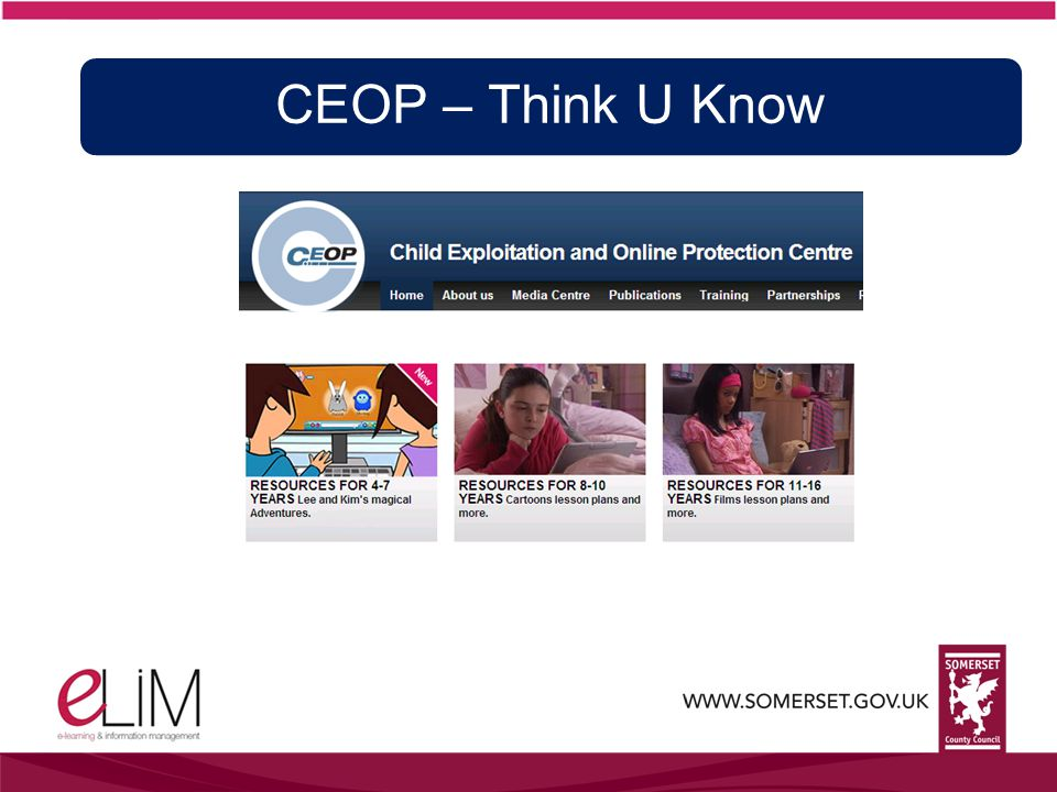 CEOP – Think U Know