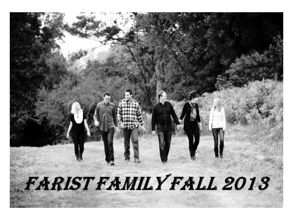 Farist Family Fall 2013