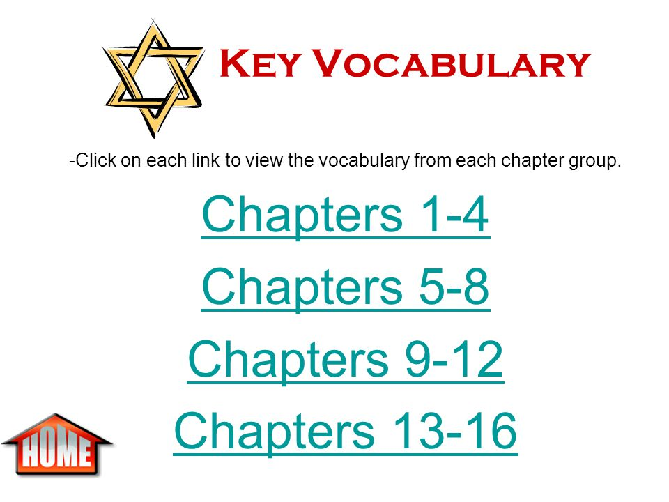 Information Page In your NTS Notebook, make your first page an information page that includes the following information about Number the Stars: Title: