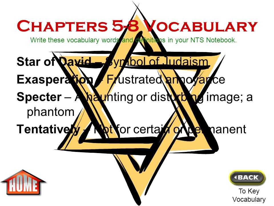 Chapters 1-4 Vocabulary Nazi – Member of the German Party Kroner – Money used in Denmark and Sweden Halte – Stop Occupation – Taking control of an are