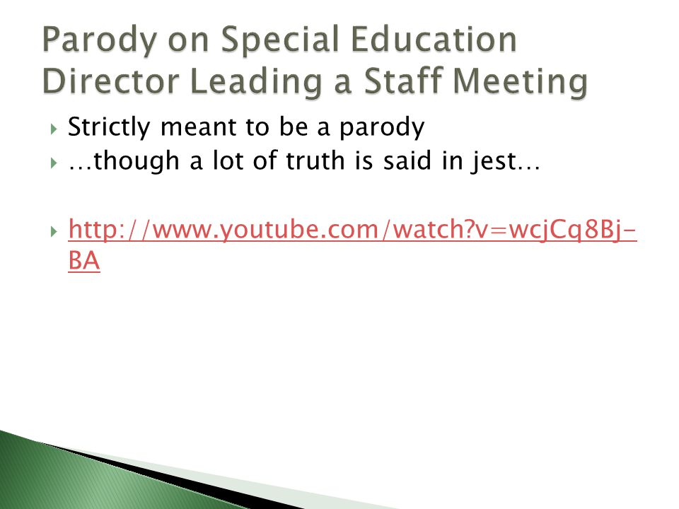 Strictly meant to be a parody  …though a lot of truth is said in jest…  http://www.youtube.com/watch?v=wcjCq8Bj- BA http://www.youtube.com/watch?v=wcjCq8Bj- BA