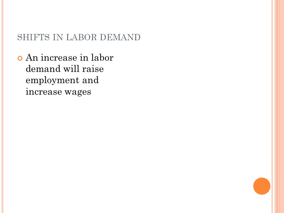 M INIMUM - WAGE LAWS Pros: Raises wages to living wage If demand for unskilled labor is inelastic, it results in continued demand Cons: If demand for unskilled labor is elastic, it reduces number employed