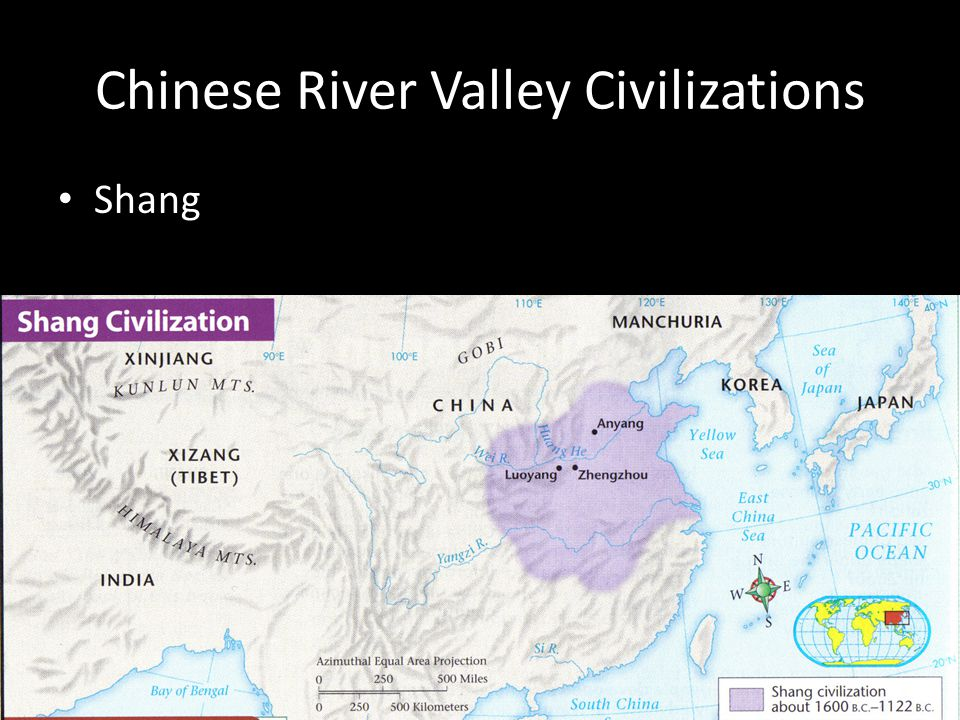 Shang Chinese River Valley Civilizations