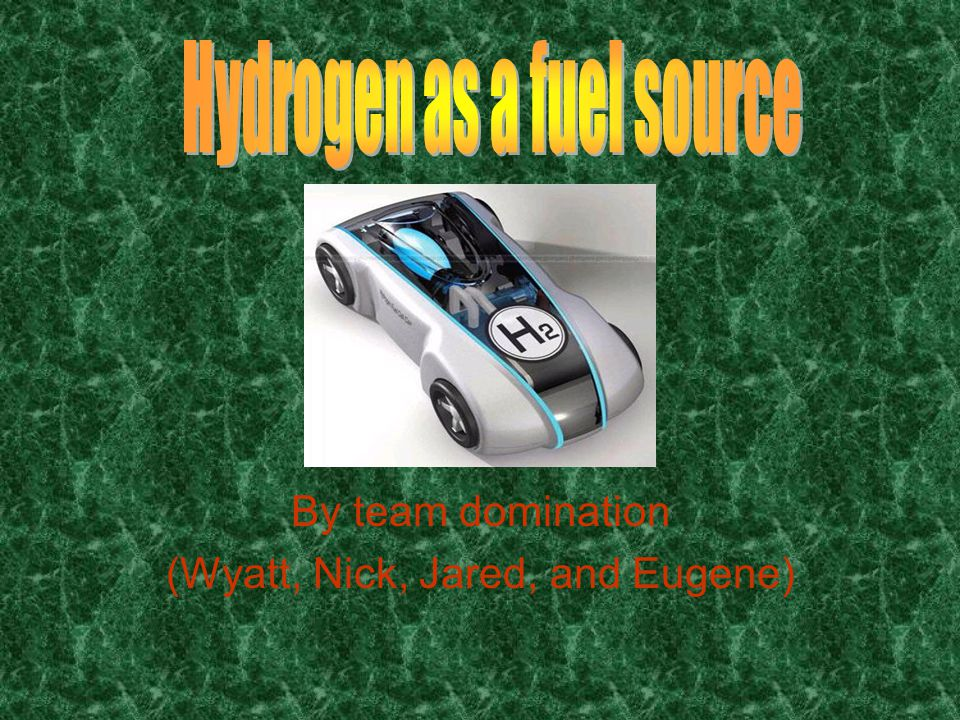 Hydrogen as a viable alternative An article about the future of fuel explains that when the oil dries up their will likely be many different fuel options, and that one won't immediately prevail.
