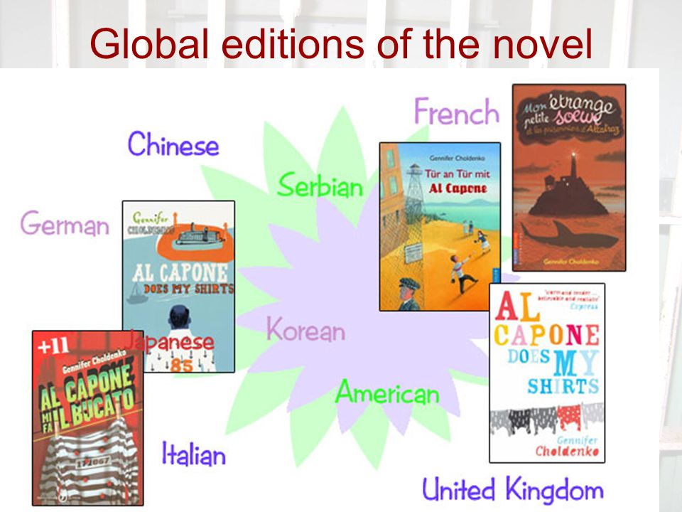 Global editions of the novel
