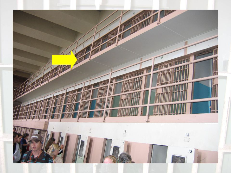 Did you know??.Alcatraz was the only prison at the time to offer hot showers to its prisoners.