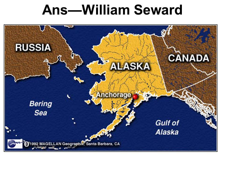 Secretary of State who purchased Alaska.