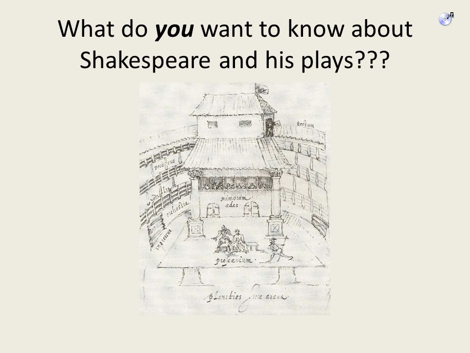 What do you want to know about Shakespeare and his plays???
