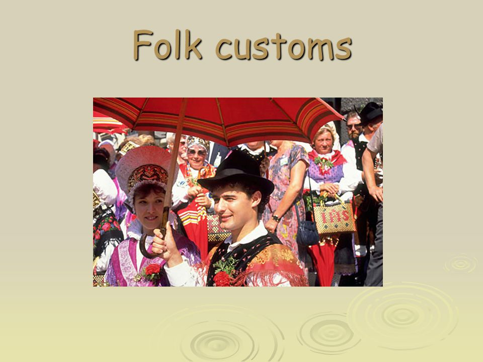 Folk customs