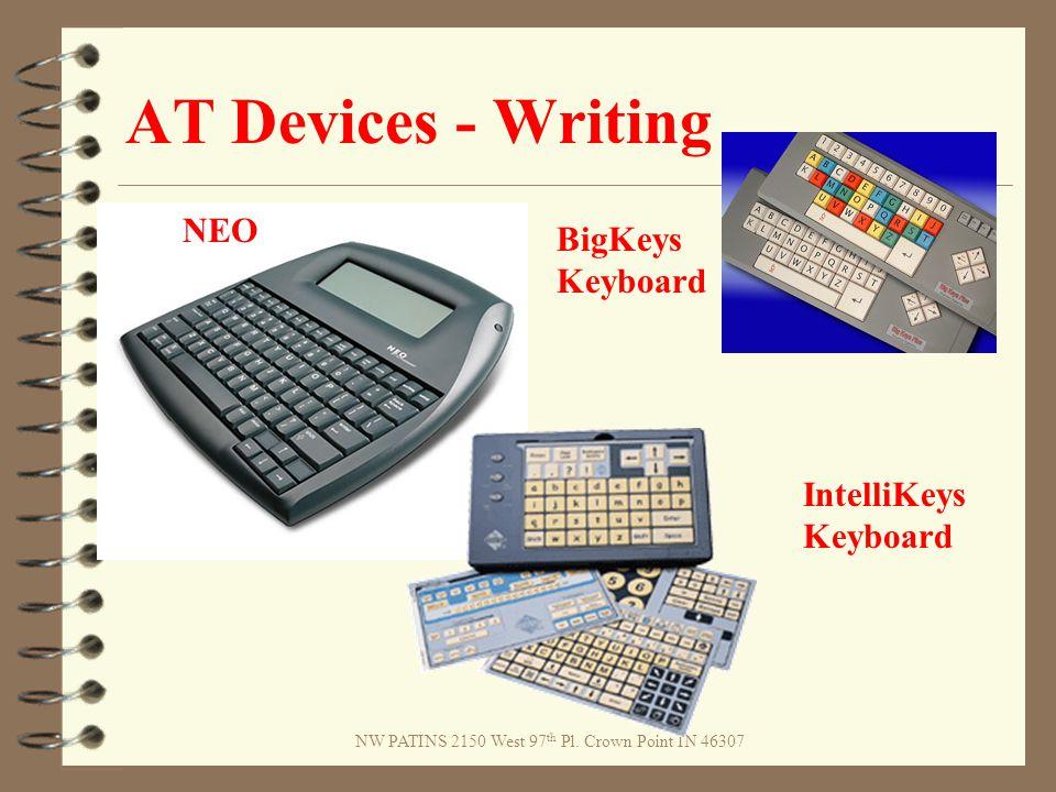 AT Devices - Writing NEO BigKeys Keyboard IntelliKeys Keyboard