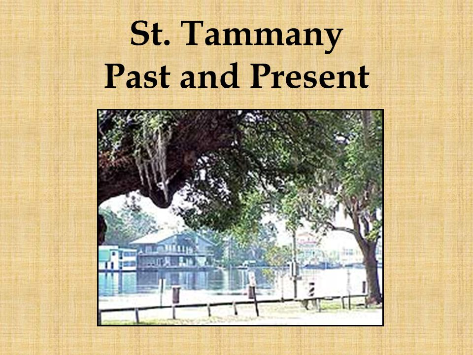 St. Tammany Past and Present