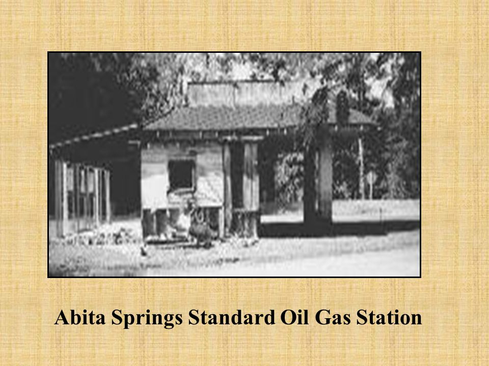 Abita Springs Standard Oil Gas Station