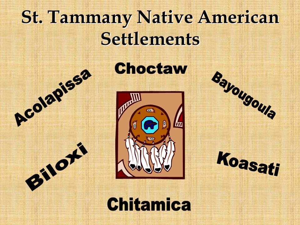 St. Tammany Native American Settlements