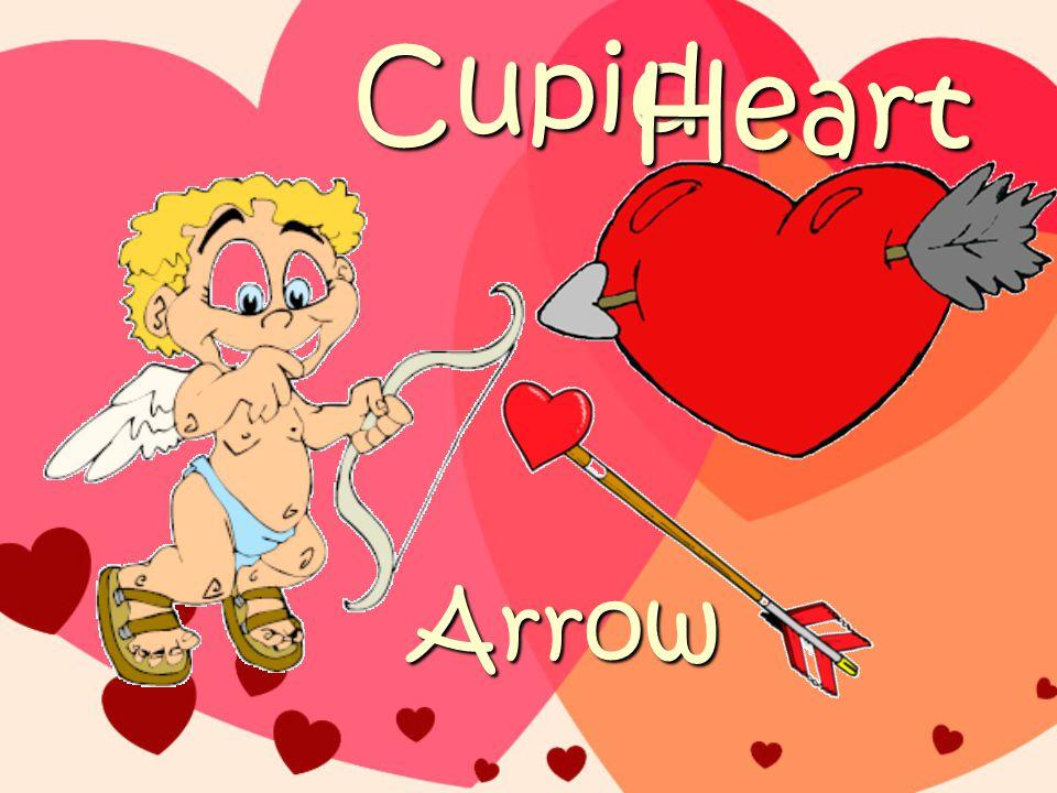 Cupid Arrow Heart