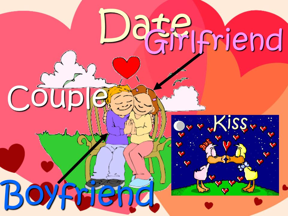 Date Boyfriend Girlfriend Couple Kiss