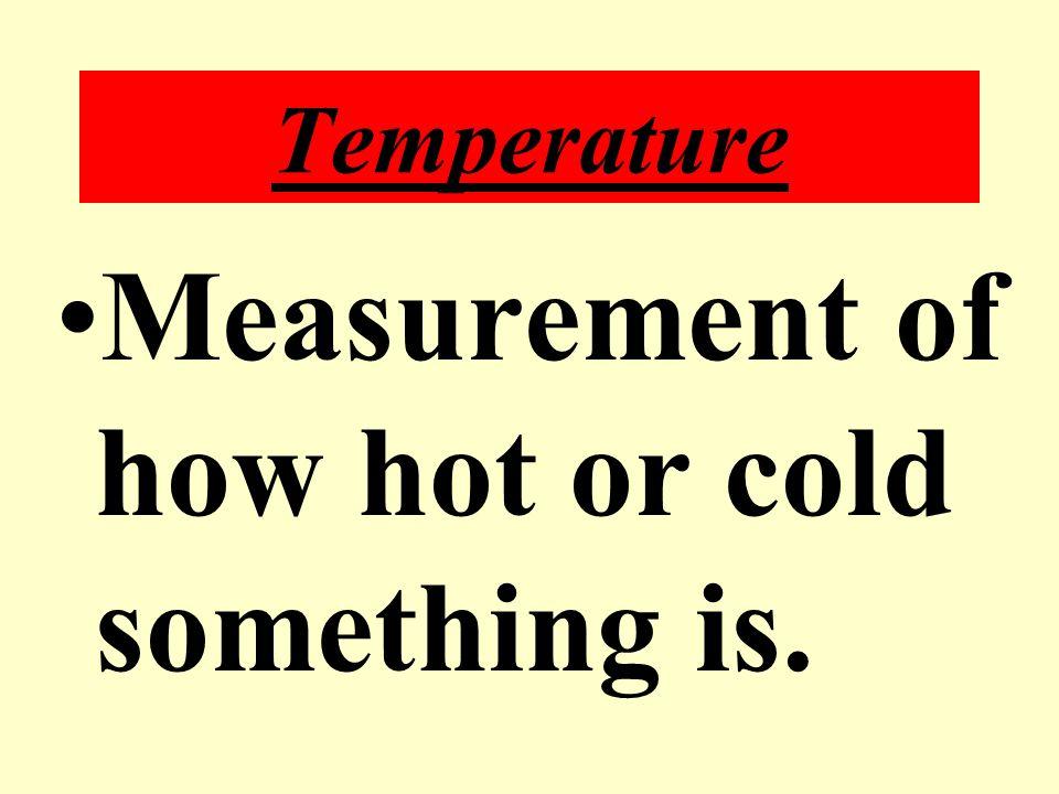 Mass is measured using a BALANCE.