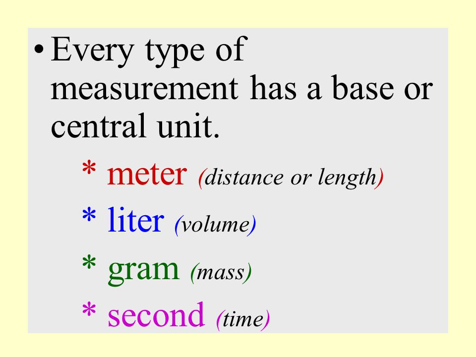 In order for any measurement to MAKE SENSE; two things must be included. 1.) a number 2.) a unit