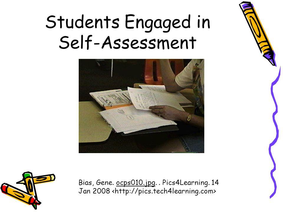 Students Engaged in Self-Assessment Bias, Gene. ocps010.jpg.. Pics4Learning. 14 Jan 2008