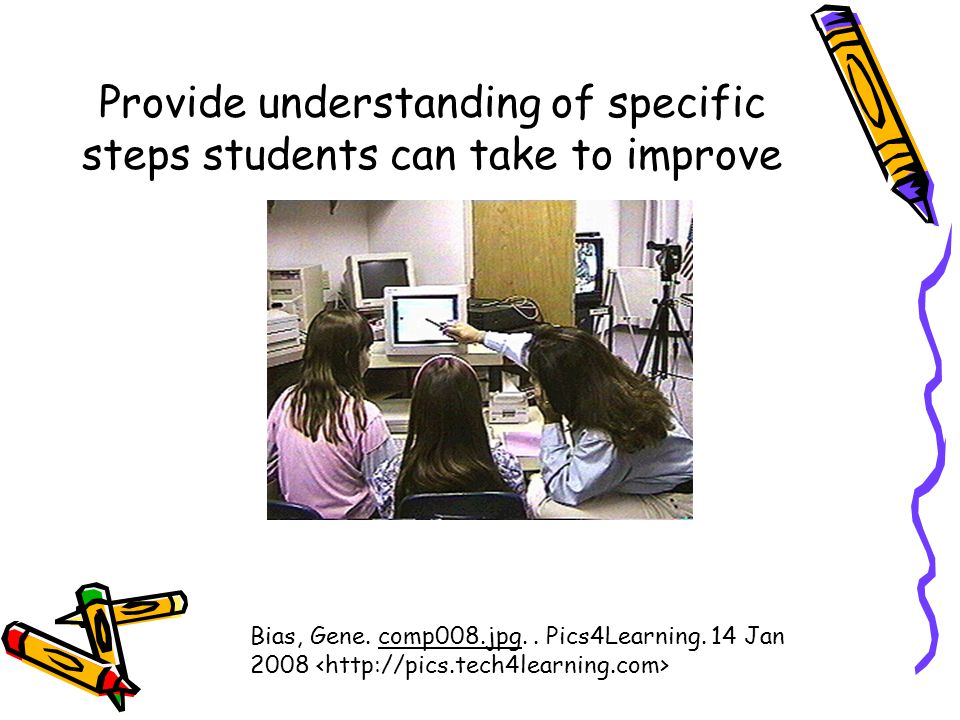 Provide understanding of specific steps students can take to improve Bias, Gene.