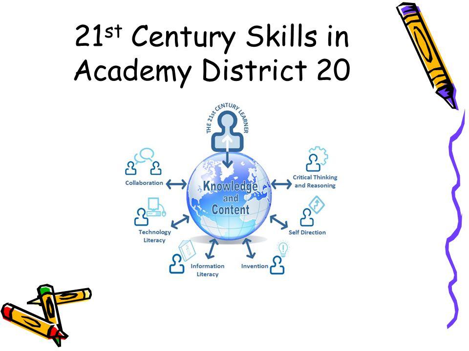 21 st Century Skills in Academy District 20