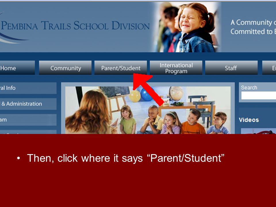 Once here, click Student Webmail Sign-in