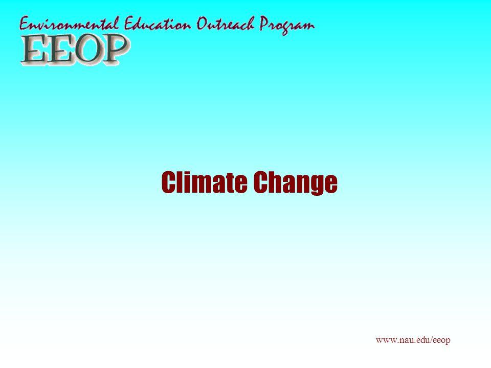 Climate Change www.nau.edu/eeop