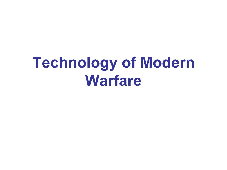 The Cost of Modern Technology Causalities of WW I