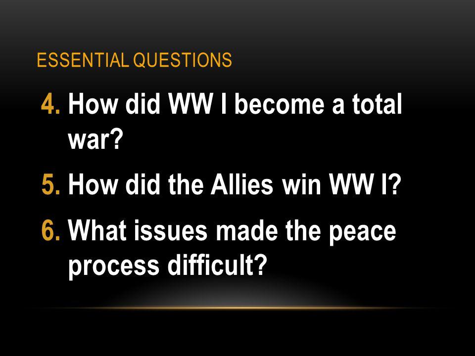 UNIT OVERVIEW Last Unit: Imperialism Current Unit: WW I Next Unit: Russian Revolution