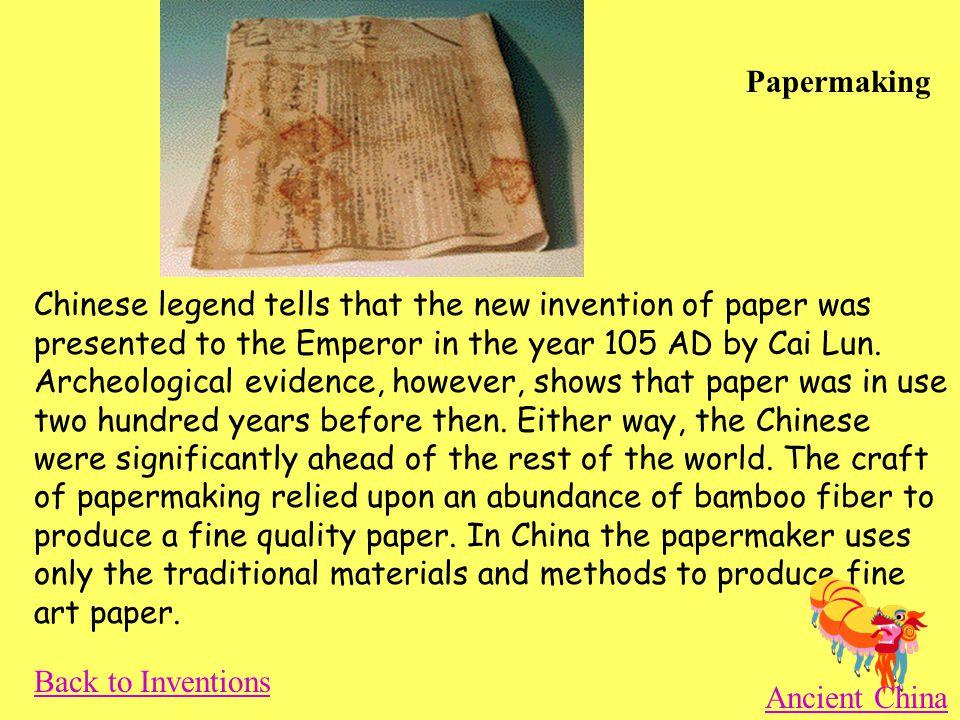 Inventions Ancient China Papermaking Gunpowder Compass Yo-Yo Abacus Silk Wheelbarrow